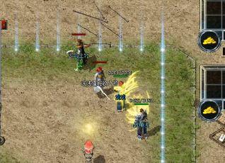 1.76传奇玩家如何在篝火地图中抢夺宝箱